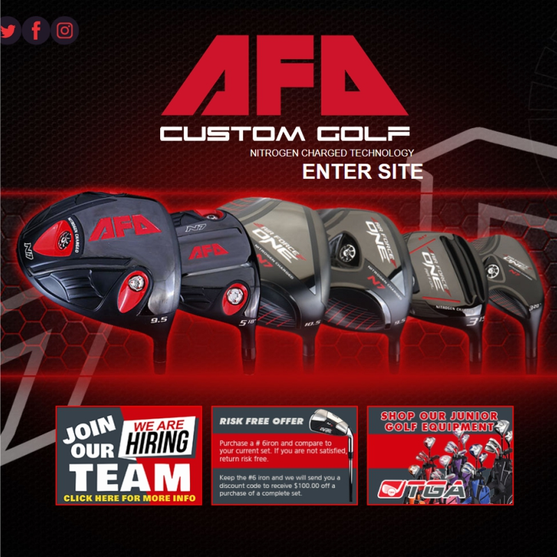 AFO Golf Web Design